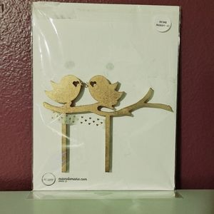Other - Two Birds Cake Topper
